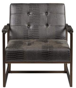 Trent Austin Design Cateline Faux Leather Armchair