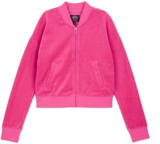 Juicy Couture Velour Collegiate Laurel Westwood Jacket for Girls