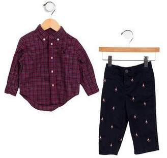 Ralph Lauren Boys' Button-Up Shirt Set