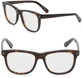 Stella McCartney Women's 52mm Tortoise Shell Optical Glasses