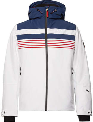 Bogner Fire Ice Mendo Striped Ski Jacket - Men - White