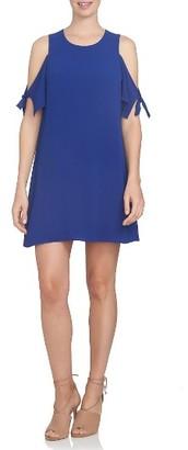 Women's Cece Cold Shoulder Shift Dress $99 thestylecure.com