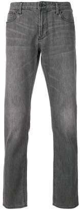 Emporio Armani slim stonewashed jeans