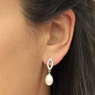 Crystal Pearl Molly & Pearl Drop Earrings