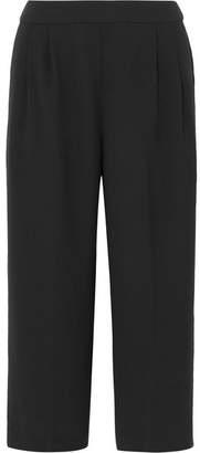 J.Crew Crepe Wide-leg Culottes - Black
