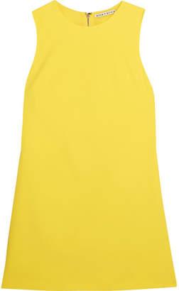 Alice + Olivia Alice Olivia - Coley Crepe Mini Dress - Yellow $275 thestylecure.com