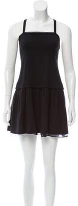 Theory Wool Mini Shift Dress