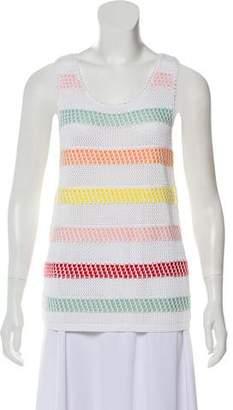 Alice + Olivia Crocheted Stripe Tops