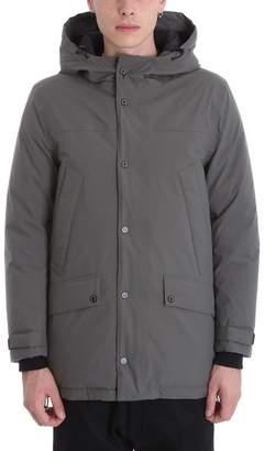 MACKINTOSH Gents Down Jacket In Grey Nylon