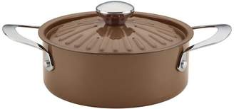 Rachael Ray Cucina Oven-To-Table Nonstick 2-1 Covered Round Casserole