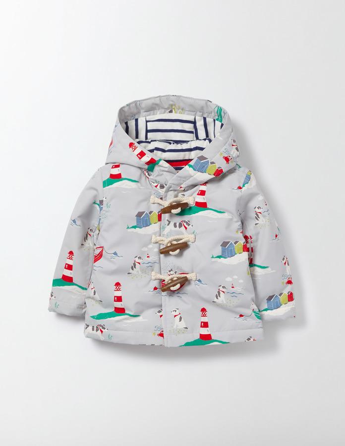 BodenBoys Printed Duffle Jacket