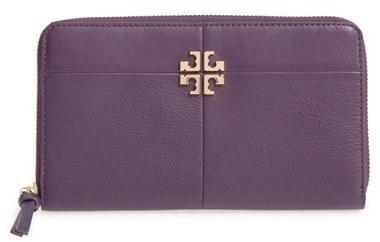 Tory BurchWomen's Tory Burch Ivy Leather Continental Wallet - Purple