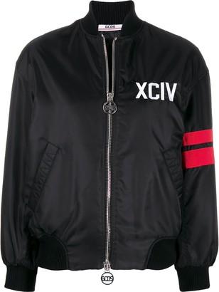 GCDS oversized bomber jacket