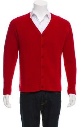 Gant Wool V-Neck Cardigan