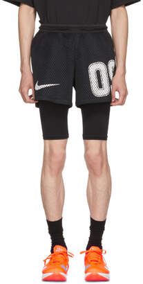 Nike Black Off-White Edition M NRG Carbon Home Shorts
