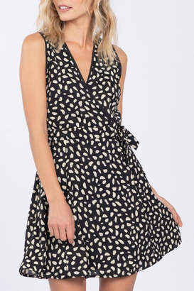 Everly Abstract Print Dress