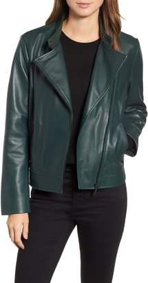 Bernardo Clean Leather Jacket