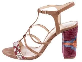Alexandre Birman Claire T-Strap Sandals