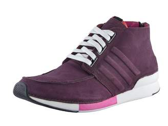 adidas SLVR Men's Hi Top Nubuck Leather Fashion Sneakers Shoes