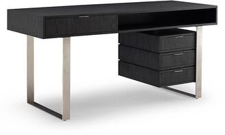Palmer Desk - Mink - Brownstone Furniture