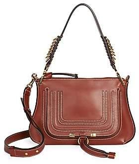 Chloé Women's Medium Marcie Leather Saddle Bag