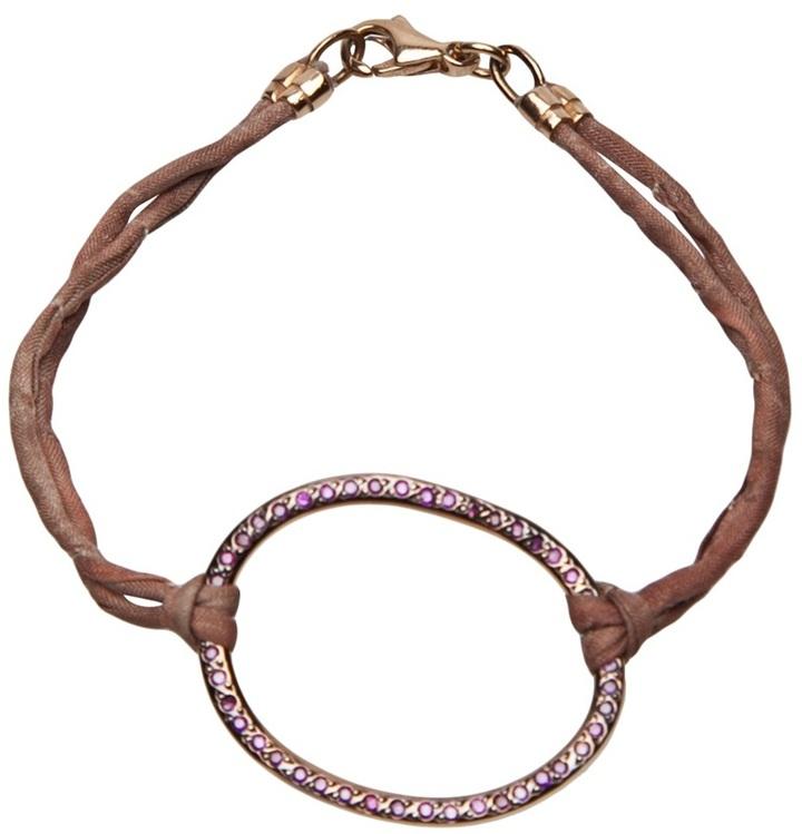 Ileana Makri Silk bracelet