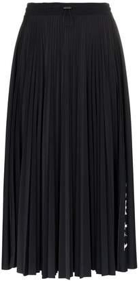 Valentino VLTN pleated midi skirt