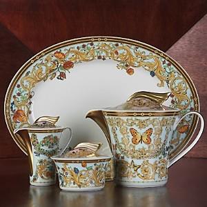 Meets Versace Butterfly Garden Sugar Bowl