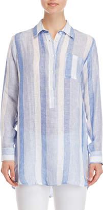 Pepito'S Capri Striped Linen Shirt