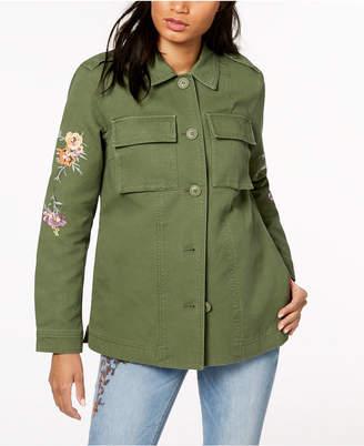 Levi's Cotton 2-Pocket Embroidered Jacket
