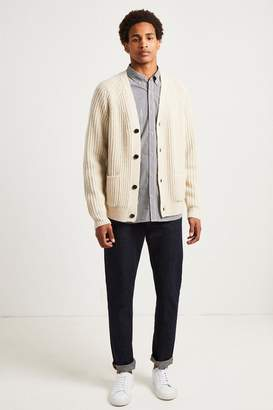 French Connenction Supersoft Wool Cashmere Cardigan