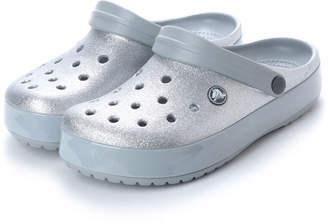 Crocs (クロックス) - クロックス crocs レディース マリン マリンシューズ Crocband Glitter Clog 205419040