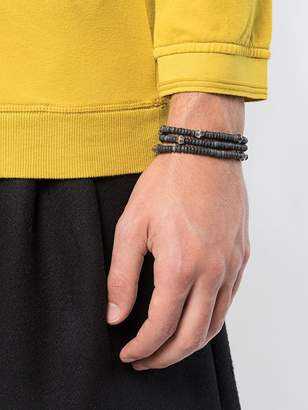 M. Cohen Layered bead bracelet