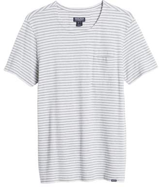 Woolrich Stripe Crewneck T-Shirt