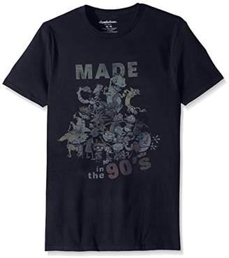 Nickelodeon Men's 90's Television Short Sleeve Graphic T-Shirt