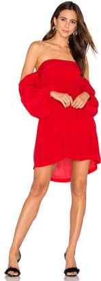 MLM Label Pillar Shoulder Dress $187 thestylecure.com