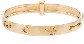Foundrae Triptych symbol diamond bangle