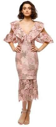 Elliatt Lace Midi Dress