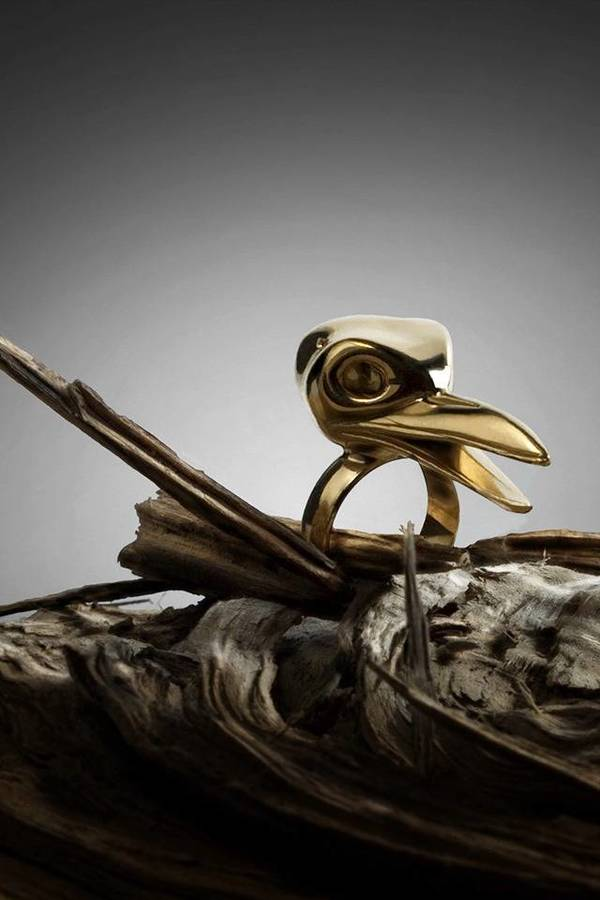 De La Forge CORNEILLE gold Ring