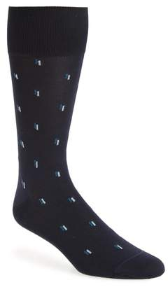 John W. Nordstrom R) Falling Dashes Socks