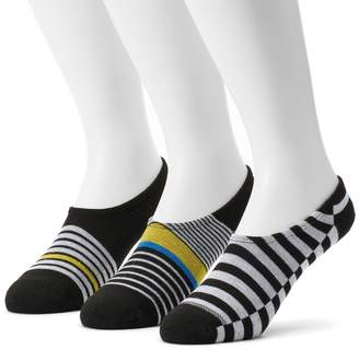 Converse Men's 3-pack Made For Chucks Striped Liner Socks