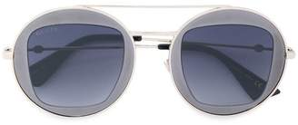 Gucci Round metal frame sunglasses