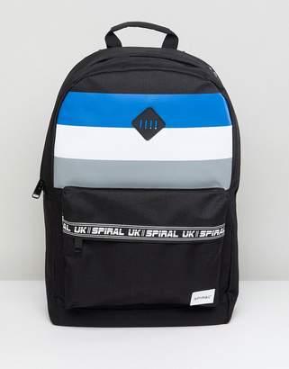 Spiral Sport Stripes Backpack
