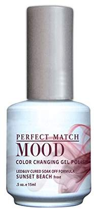 Le Chat LeChat Perfect Match Mood Gel Nail Polish, Sunset Beach