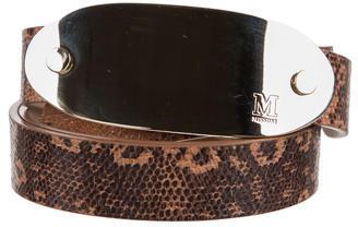 MissoniM Missoni Embossed Logo Waist Belt w/ Tags
