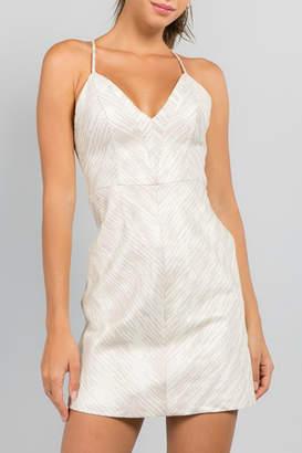 Minuet Back Strap Detail Dress