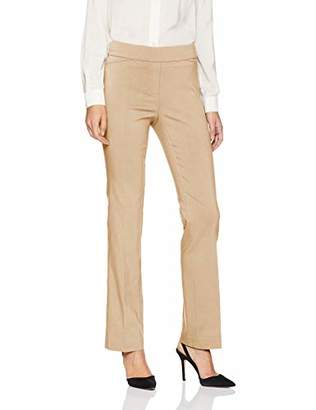 Lark & Ro Women's Barely Bootcut Stretch Pant: Comfort Fit