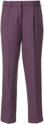 Etro cropped high waisted trousers