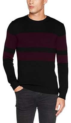 Benetton Men's Longsleeve Sweater Sweatshirt,Large