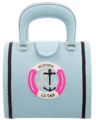 Olympia Le-Tan Mini Nautical Satchel